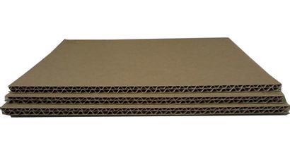 瓦楞纸板结构开发多种瓦楞纸板组合型的缓冲包装材料